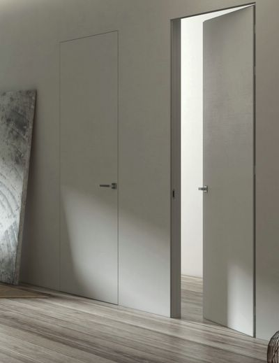 Porte d 39 int rieur contemporaine grav e essential for Porte contemporaine interieur