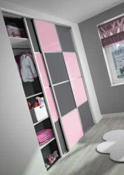 facade coulissante 2 vantaux 4 partitions. Black Bedroom Furniture Sets. Home Design Ideas